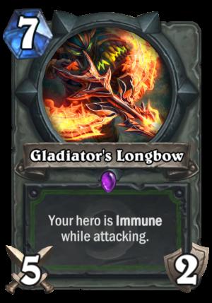 Gladiator's Longbow Card