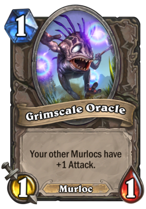 Grimscale Oracle Card