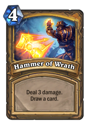 Hammer of Wrath Card