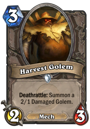 Harvest Golem Card