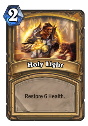 Holy Light Card
