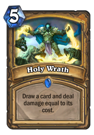 Holy Wrath Card