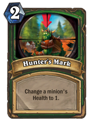 Hunter's Mark Card