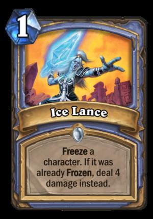 Ice Lance Card