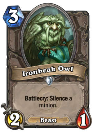 Ironbeak Owl Card