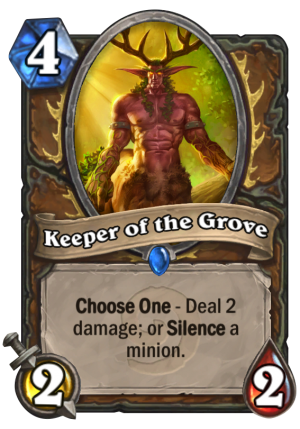 Keeper of the Grove Card