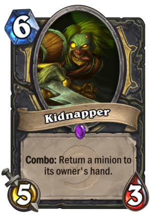 Kidnapper Card