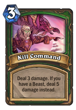 Kill Command Card
