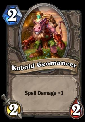 Kobold Geomancer Card