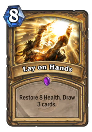 Lay on Hands Card