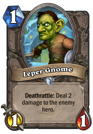 Leper Gnome Card