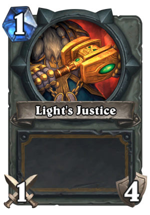 Light's Justice Card