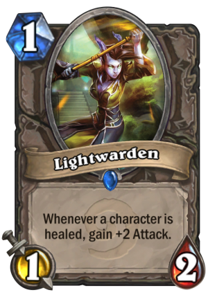 Lightwarden Card