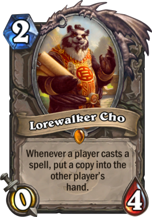 Lorewalker Cho Card