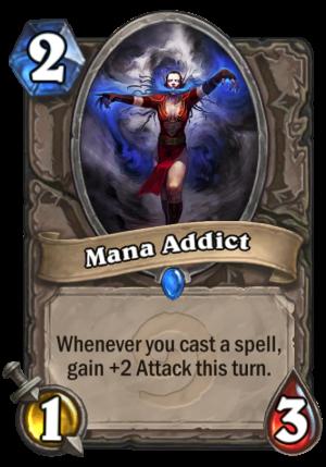 Mana Addict Card
