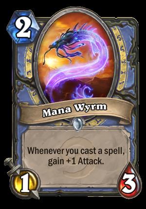 Mana Wyrm Card