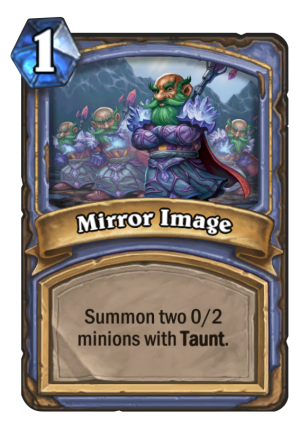 Mirror Image Card