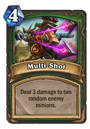 Multi-Shot Card