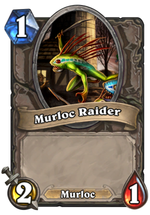 Murloc Raider Card