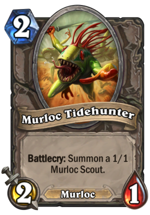 Murloc Tidehunter Card