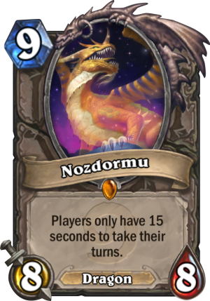 Nozdormu Card