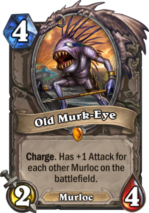 Old Murk-Eye Card