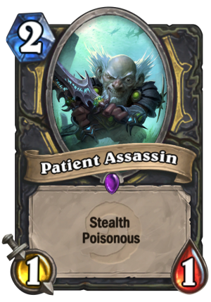 Patient Assassin Card