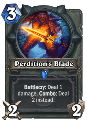Perdition's Blade Card