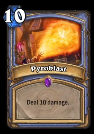 Pyroblast Card
