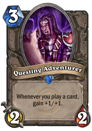 Questing Adventurer Card