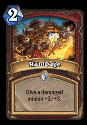 Rampage Card