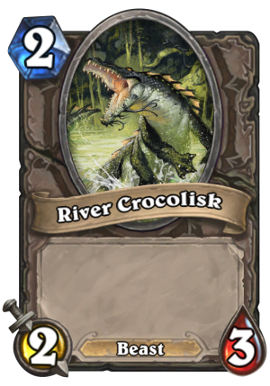 River Crocolisk Card