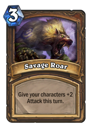 Savage Roar Card