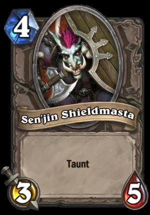 Sen'jin Shieldmasta Card