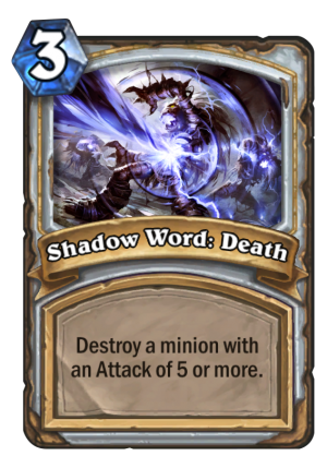 Shadow Word: Death Card