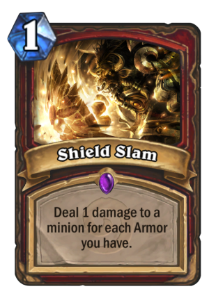 Shield Slam Card