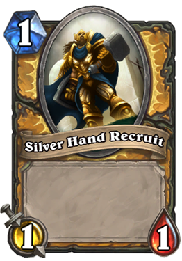 Silver Hand Recruit Card