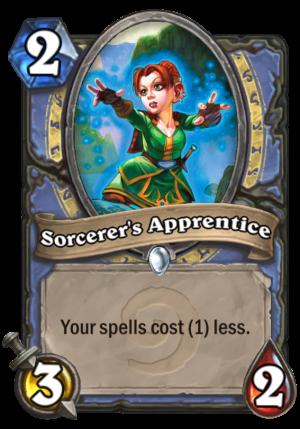 Sorcerer's Apprentice Card