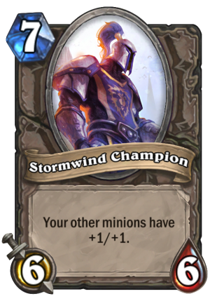 Stormwind Champion Card