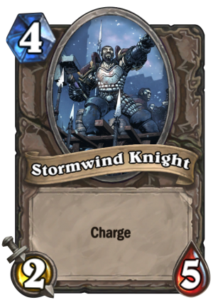Stormwind Knight Card