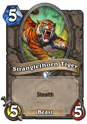 Stranglethorn Tiger Card