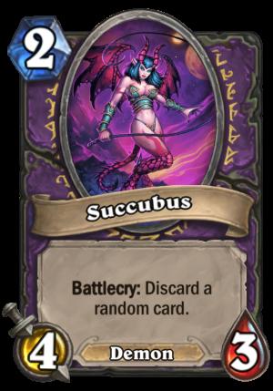 Succubus Card