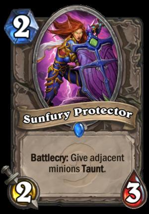 Sunfury Protector Card