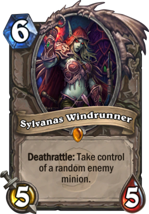 Sylvanas Windrunner Card