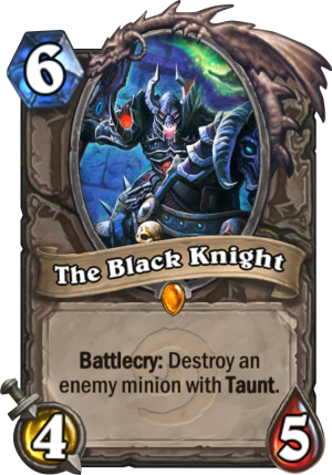 The Black Knight Card