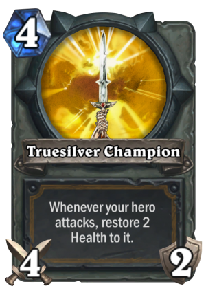 Truesilver Champion Card
