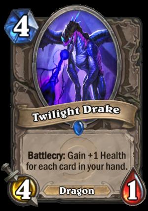 Twilight Drake Card