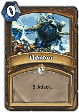 Uproot Card
