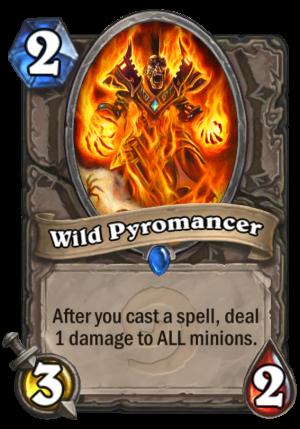 Wild Pyromancer Card
