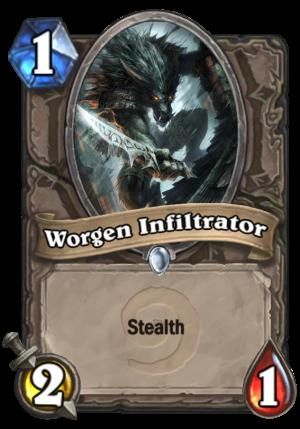 Worgen Infiltrator Card